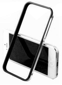 Great Price iPhone 5 5S Sword 5+ Double Color Aluminum Bumper (Black)