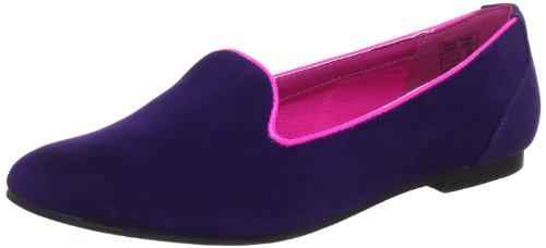 Jane Klain 221 755 Ballet Flats Womens Purple Violett (lila 883) Size: 6.5 (40 EU)