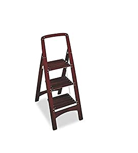 Amazon Com Cosco Rockford 11255mgy1 Wood Step Stool 3