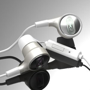 Spicybomb 501Is Gaming Vibration Hybrid 2.2 Earphone With Microphone -Bone Conduction (White))