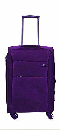 Princeware Princeware Michigan Nylon 68 Cms Purple Suitcase (6992) (Violet)