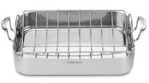 Cuisinart Stainless 16 Roasting Pan with Rack