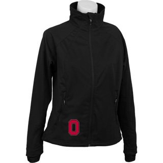 Ohio State Buckeyes Columbia Ladies Black Hot to Trot Jacket by Columbia