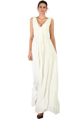 eDressit White Party Dress Ball Gown Evening Dress (00090907) SZ 16