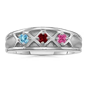 design your own 14k white gold aaa 2 5mm