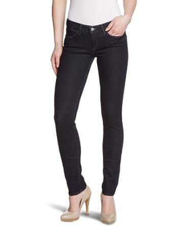 Wrangler - courtney - denim spa - jean - skinny - brut - femme - bleu (smooth legs) - w25/l32