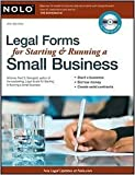 img - for Legal Forms for Starting & Running a Small Business 6th (sixth) edition Text Only book / textbook / text book
