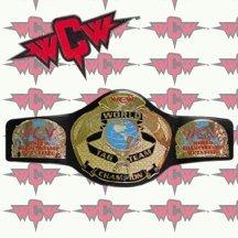 WCW TAG TEAM Championship Mini Size Replica BELT - New (Wwe Mini Replica Belts compare prices)