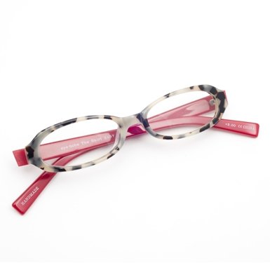 Small Red and Tortoishell Reading Glasses (1.5)