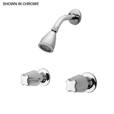 Pfister 07-311 Two-Handle Shower Faucet Only with Metal Verve Handles, Chrome (Pfister Two Handle Shower Faucet compare prices)