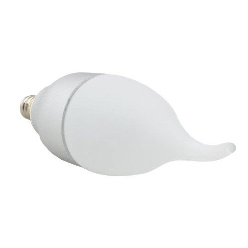 2 Pcs Led Ca Candelebra Flame Light Bulb E12 Base 4W (20W Equivalent) 200Lm 110V Warm White 3000K Dimmable 2 Yrs Warranty