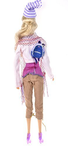 Banana kong Doll's Casual Short Coat + Pant + Messenge Bag Set by Banana Kong