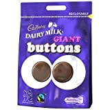Cadburys Dairy Milk Giant Buttons Chocolate Sweets