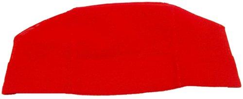 メッシュスイムキャップ レッド M(48~54cm)