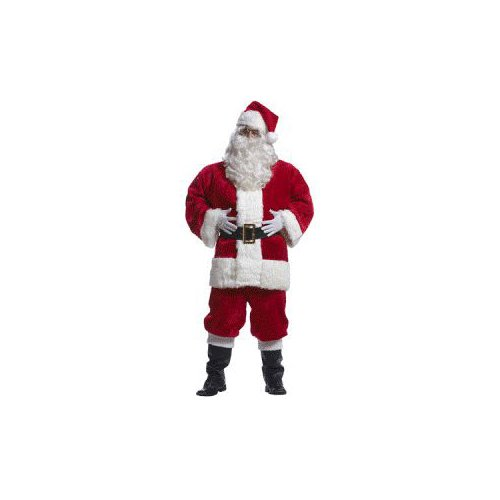 Imperial Red Santa Suit Costume - Large