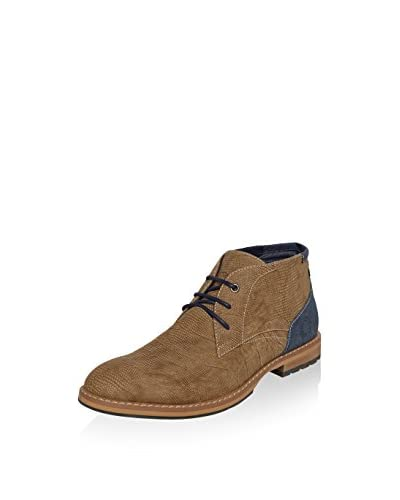Nebulus Desert Boot West braun/denim