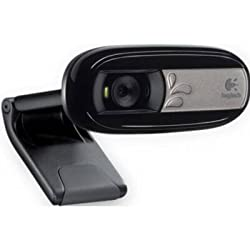 Logitech Webcam VGA-Quality Video with Built-In M