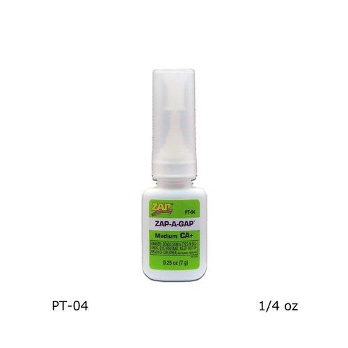 Pacer - 1/4 oz. Zap-A-Gap CA+ Pt-04 - 1