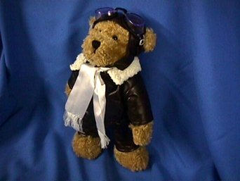 CODY AVIATOR PILOT TEDDY BEAR PLUSH TOY 15