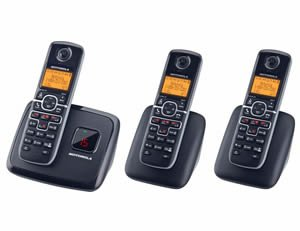 Dect6.0 Cordless W/ Answering-3 Handsets Dect6.0 Cordless W/ Answering-3 Handsets