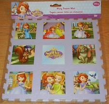 "Sofia The First Foam 9"" x 9"" Puzzle Mat - 1"