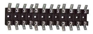 COOPER BUSSMANN - BK/S-8301-1-R - FUSE BLOCK, 6.3 X 32MM, BOLT-IN MOUNT