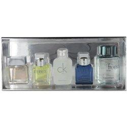 Calvin Klein Fragrances For Men Deluxe Cologne Miniature Gift Set