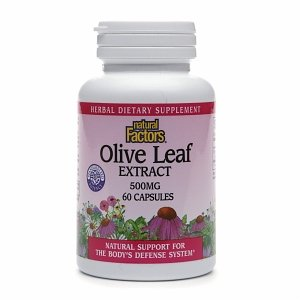 Natural Factors Olive Leaf Extract, 500mg 60 capsules