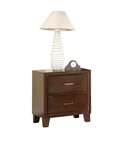 ACME Furniture Tyler Nightstand, Cappuccino