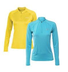 ASICS HALF Zip Women's Manches Longues T-shirt Course à Pied - M