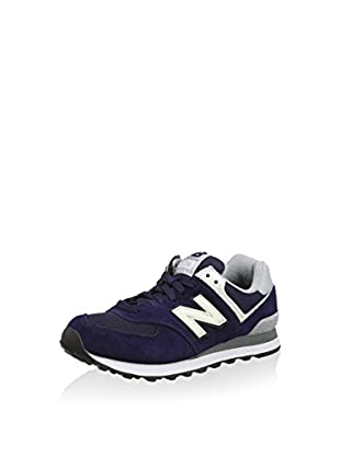 New Balance Zapatillas 574 (Azul Marino / Blanco)