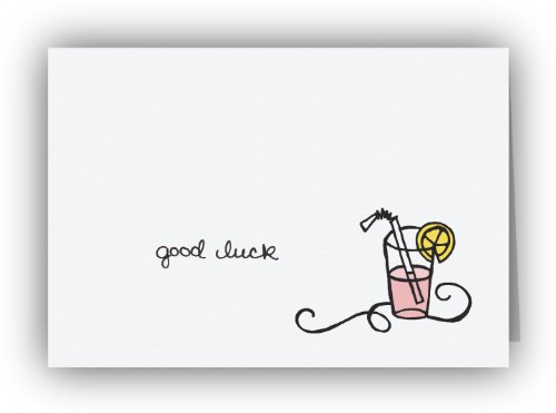Pink Lemonade Good Luck Cards