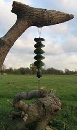 FIREWINDER wind powered Spinner spinning Light LARGE size