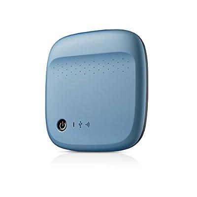 Seagate Wireless Mobile Portable Hard Drive Storage 500GB (Blue)