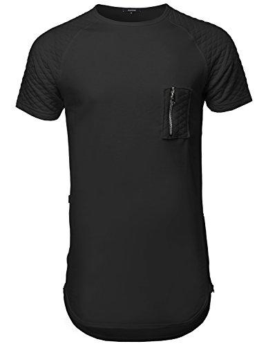 youstar-mens-short-sleeve-quilted-pocket-distressed-t-shirtsamtts0461-blacklarge
