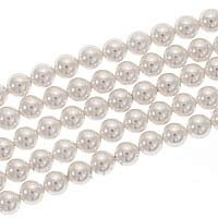 Swarovski Crystal 5810 6mm WHITE Pearl Beads (50) 574025