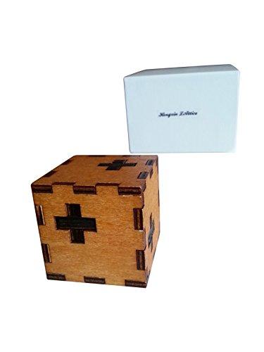 Hongxin LAttice Swiss Cube Brain Teaser Puzzle Unlock Game - 1
