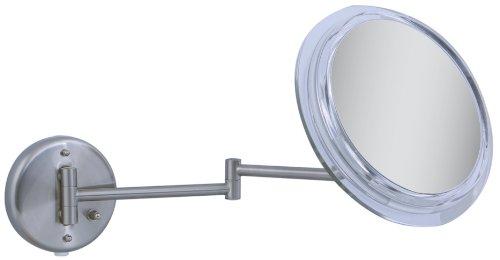 Zadro - Surround Light 7X Wall Mirror Sw47 Satin Nickel front-587262