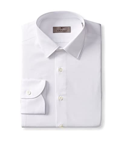 Canali Men's Solid Dress Shirt