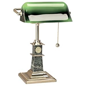 Penn State University - Solid Brass Bankers Lamp by Alumni Gift