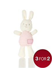 Knitted Rabbit Soft Toy