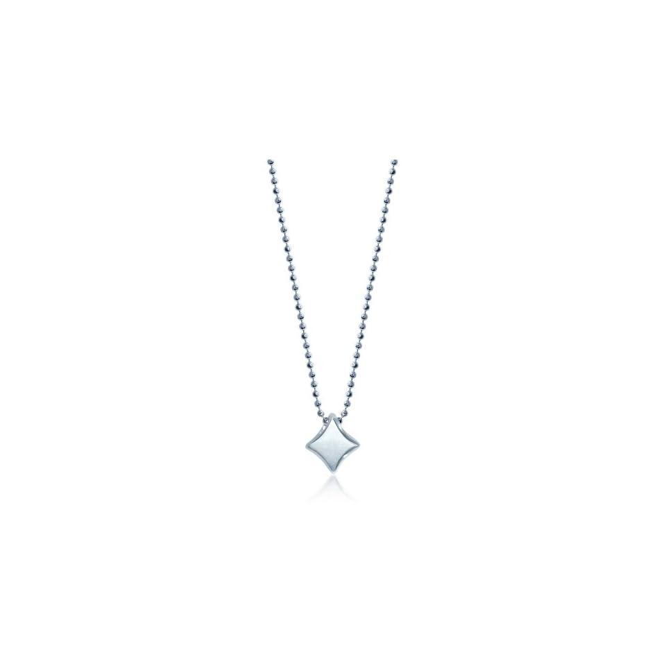 0562ba633638c Alex Woo Little Vegas Sterling Silver Diamond Pendant Necklace