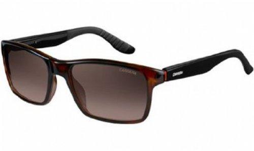 Carrera 8002/S Sunglasses Ca8002S-02Xf-La-5418 - Havana Frame, Brown Polarized Lenses, Lens