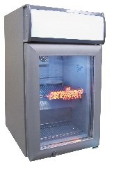 Excellence Sc-80 Countertop Display Cooler With Light 2.7 Cu Ft front-429782
