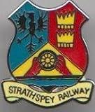 Strathspey Railway Boat of Garten to Dufftown Scotland Pin Badge