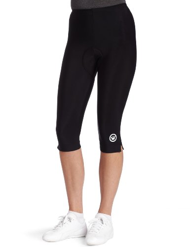 Canari Cyclewear Women's Pro Tour Gel Knicker Padded Cycling Short (Black, Large)