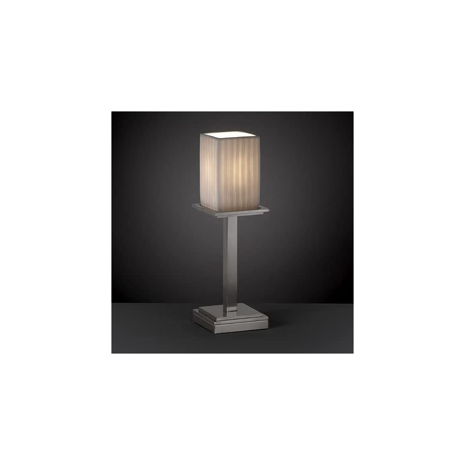 Justice Design Group POR 8699 Montana 1 Light Table Lamp (Tall)