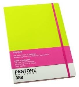 pantone-universe-notebook-sketchbook-lime-yellow-389-by-pantone