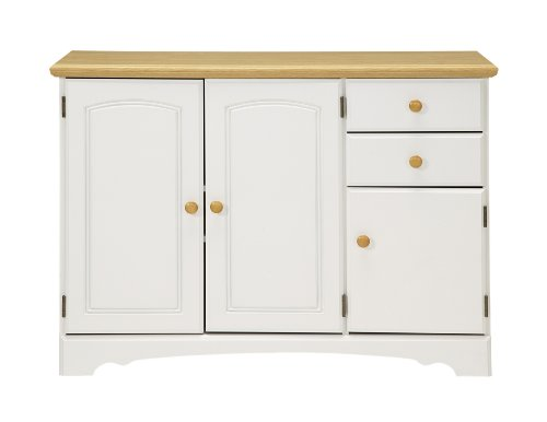 New Visions By Lane   Kitchen Buffet White And Maple