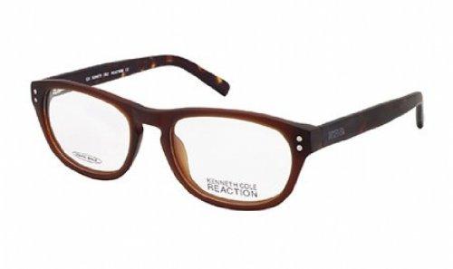 kenneth-cole-reaction-montura-gafas-de-ver-kc0736-049-marron-oscuro-mate-50mm